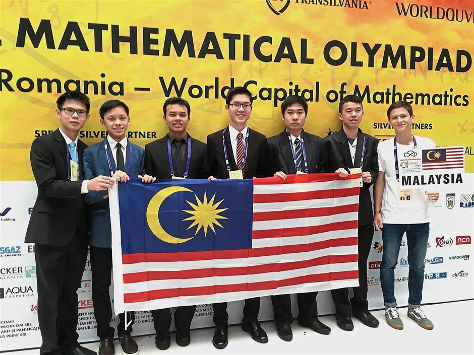 Team wins bronze medals in math olympiad | The Star Online