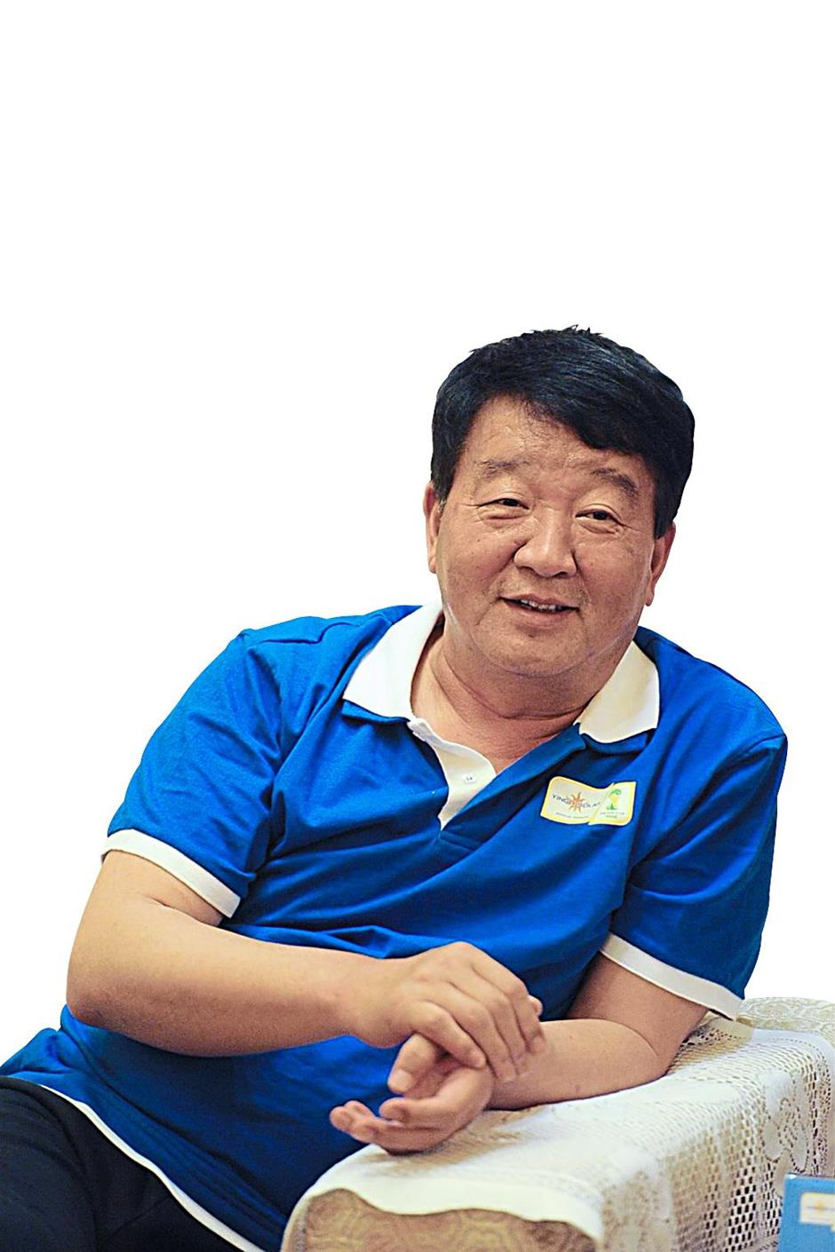 Yingli Green Energy founder and chairman Miao Liansheng says the company aims to produce affordable solar cells.