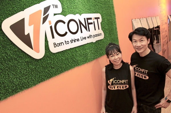 Big demand: Lee and Ooi went from free public exercise classes to serious business as their fitness classes gain traction.