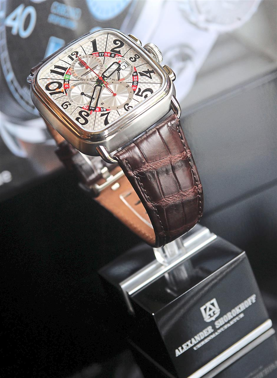 The Fedor Dostoevsky Chronograph from the Heritage line retails for RM36,100.