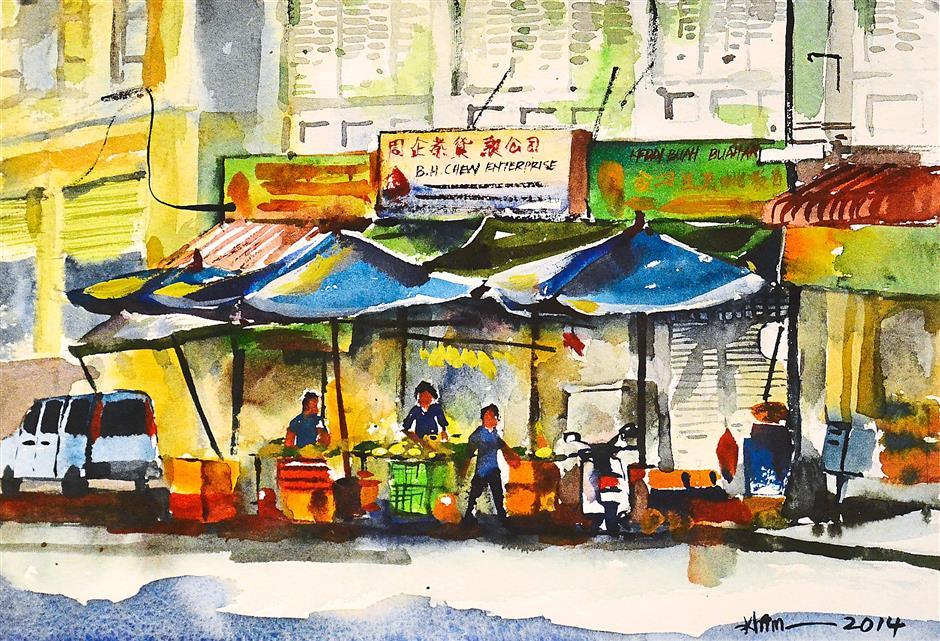 Penang II by Lee Weng Khim. (Jeremy Tan / Feb 11, 2015)
