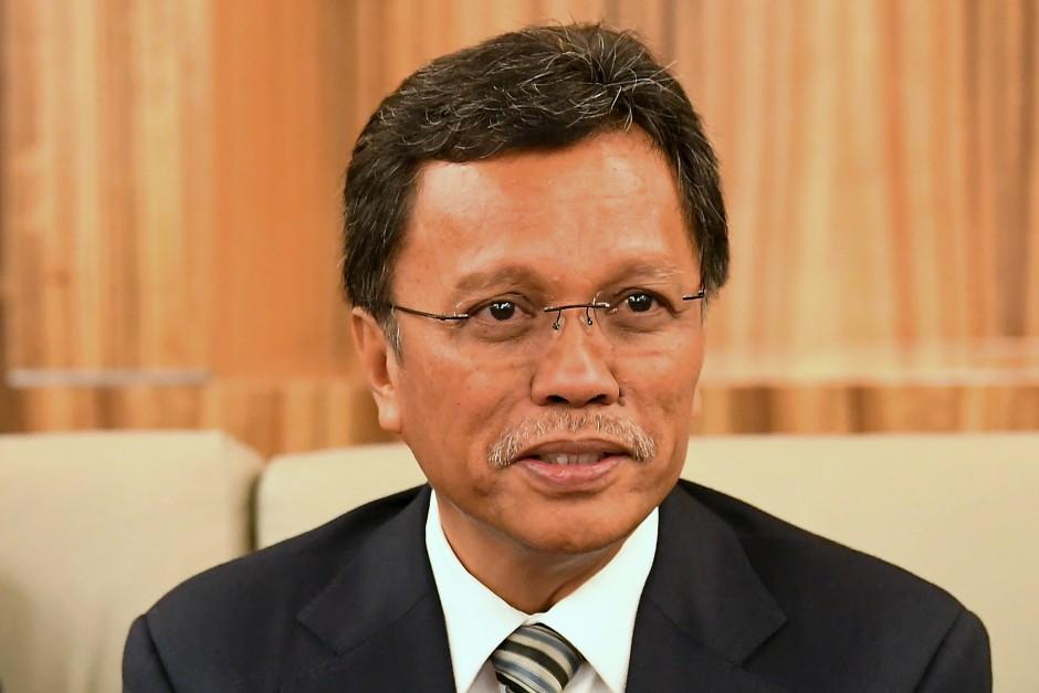 Sabah Chief Minister Datuk Seri Mohd Shafie Apdal. u2013 Bernama