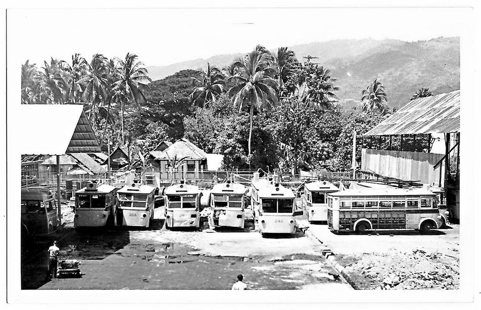 By 1961, all the trolleybuses were dismantled and scrapped in the depot in Trem Road (formerly Tramway Road).