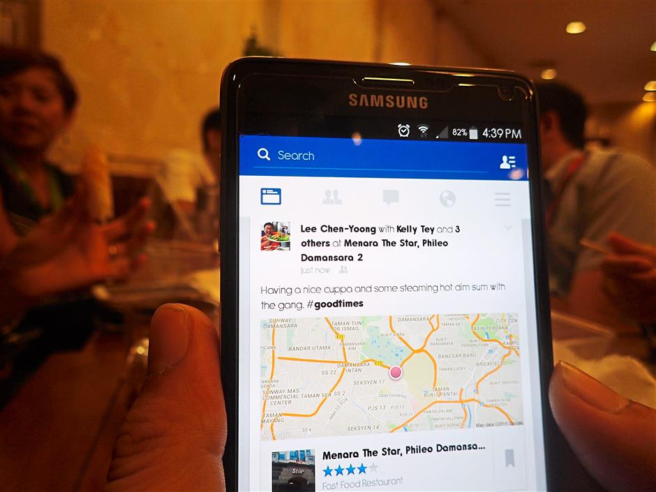 10. People who check in everywhere
