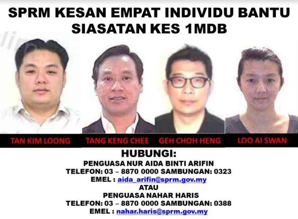 MACC identifies four linked to 1MDB including 'mystery man' KL Tan