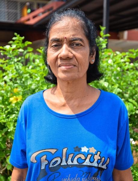 Lakshmi says scrap metal thieves have ripped out loose hoardings.