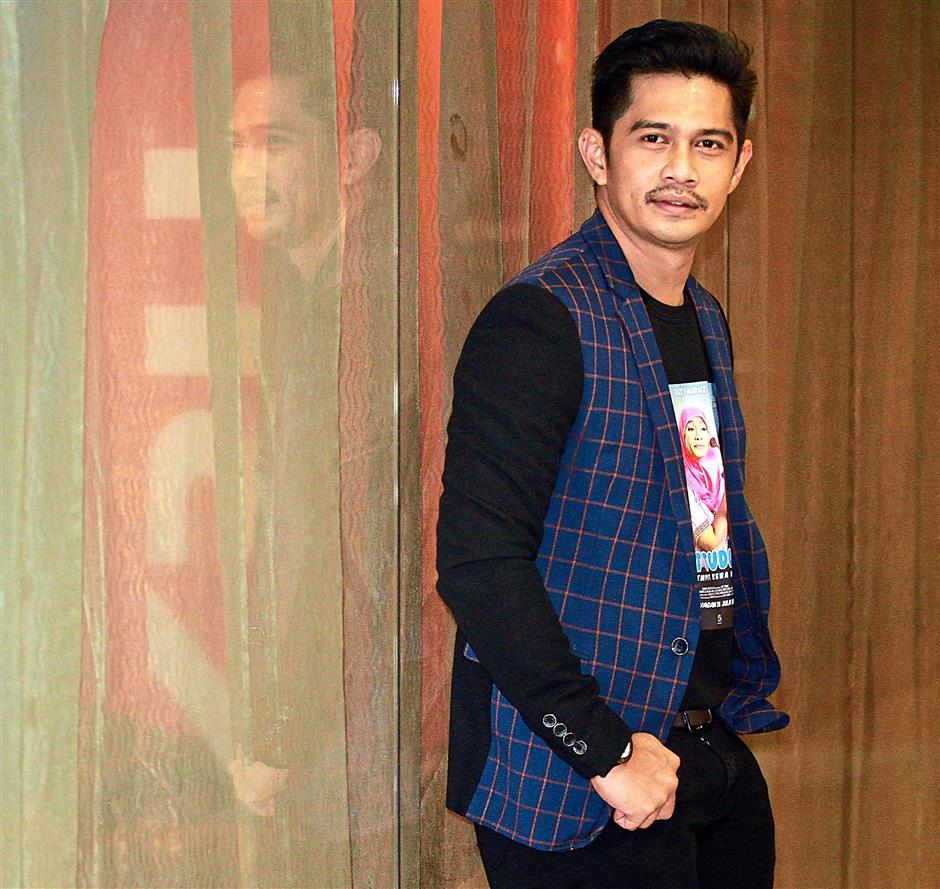 Making waves: Fizz Fairuz looks for challenging roles when picking a project.