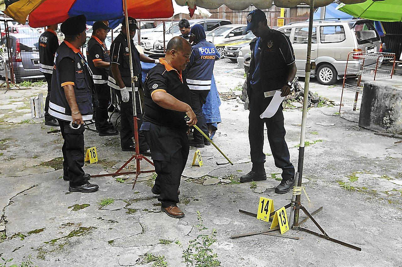 Shooting case at Bukit Bintang on 29 July 2013