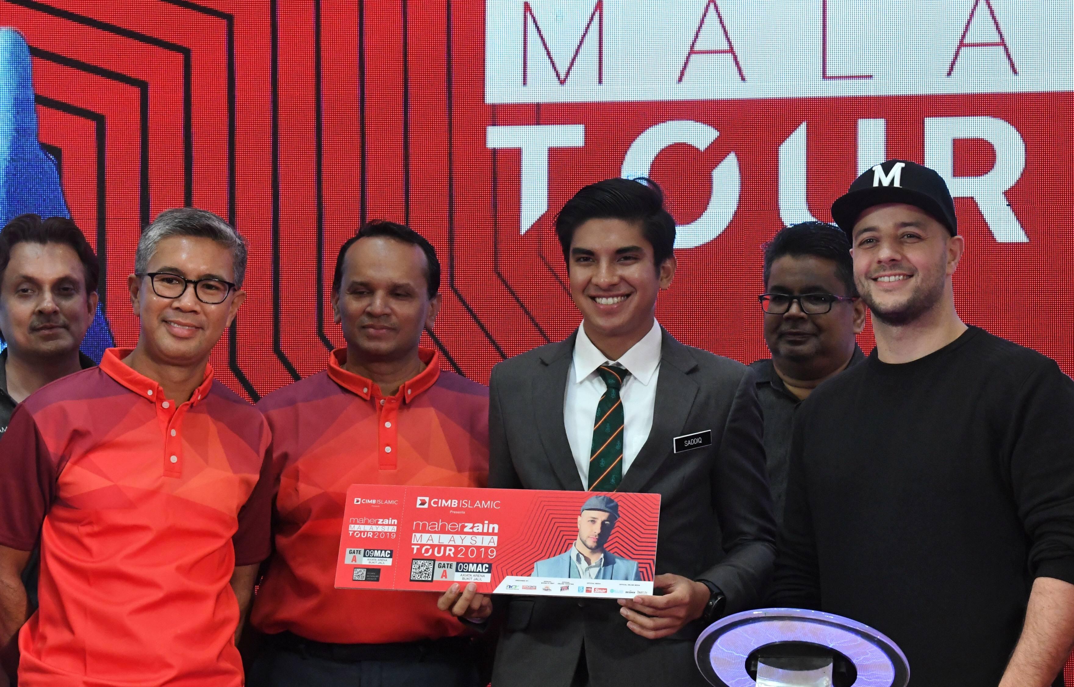 Syed Saddiq treats his mum to Maher Zain concert | The Star Online