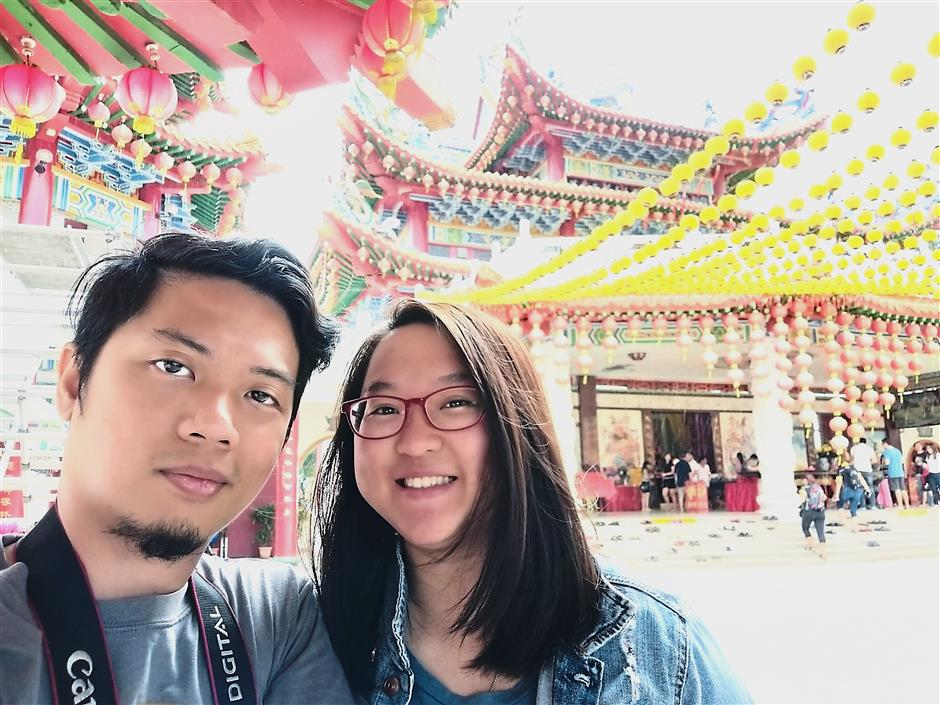 Choo decided to meet up with Mogol while on holiday at his hometown in Manila after hitting it off with him on language app HelloTalk. — Eris Choo