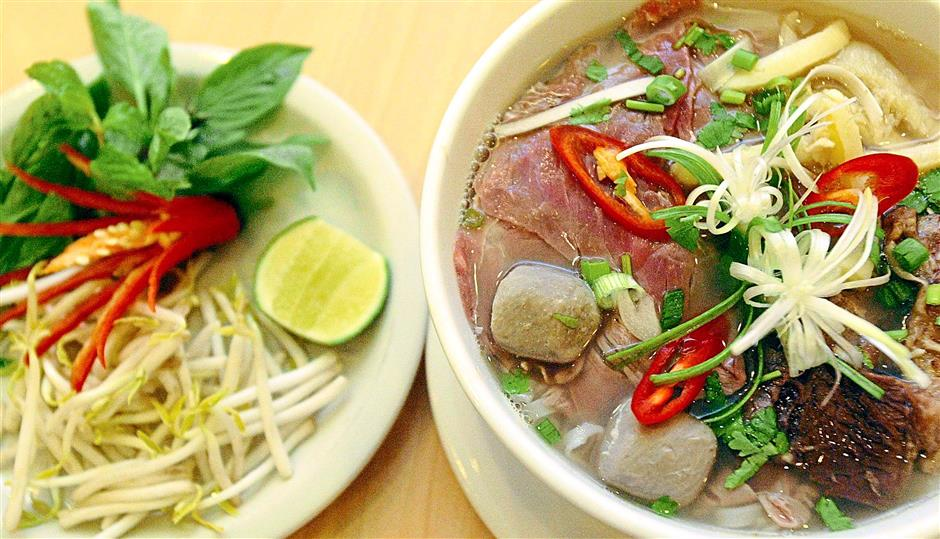 2. Pho Noodles from Vietnam