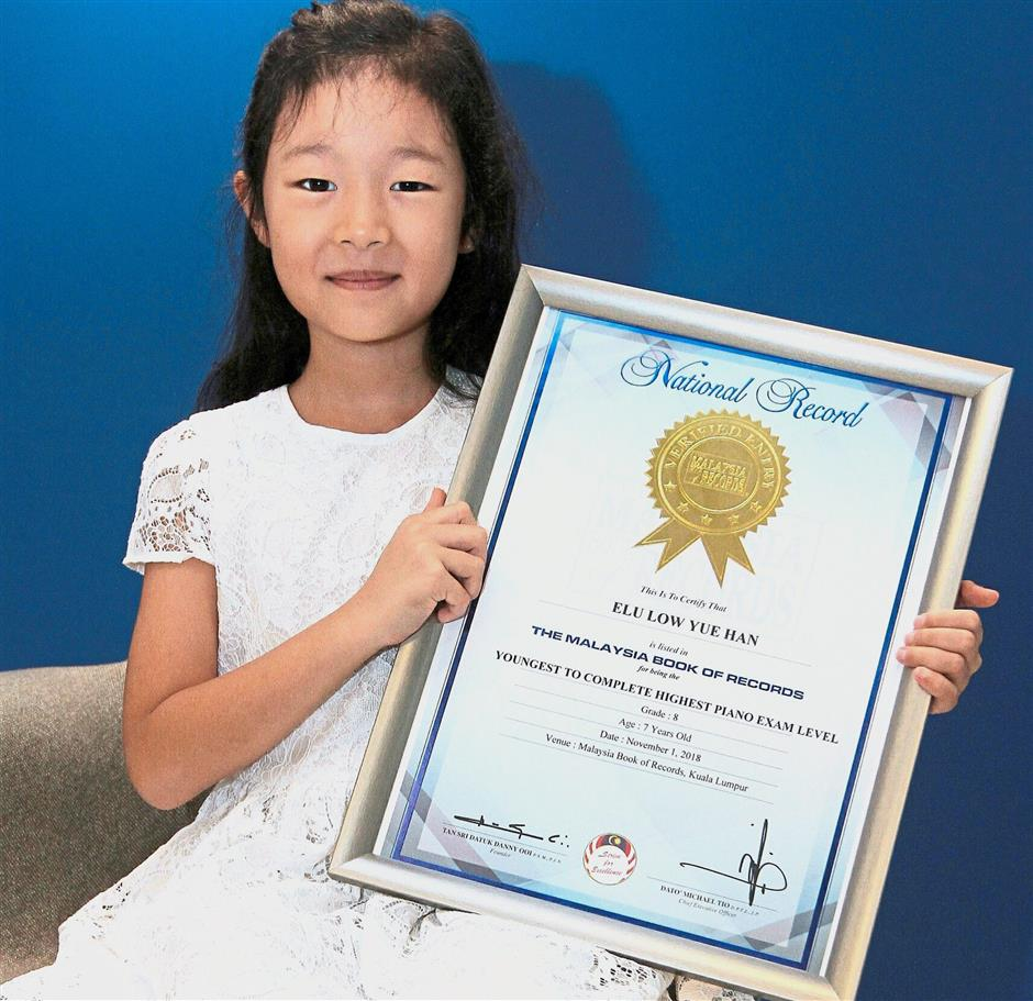 Girl Completes Grade 8 Piano In Eight Months The Star