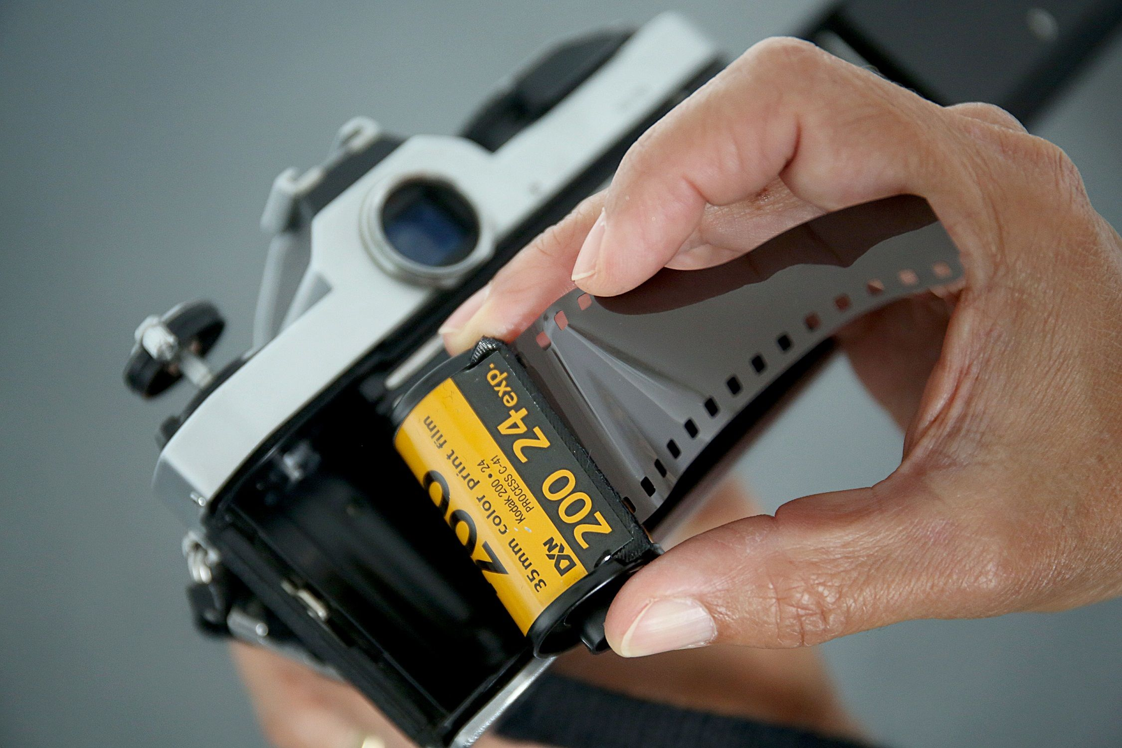 Just when you thought you'd never see film again, Kodak