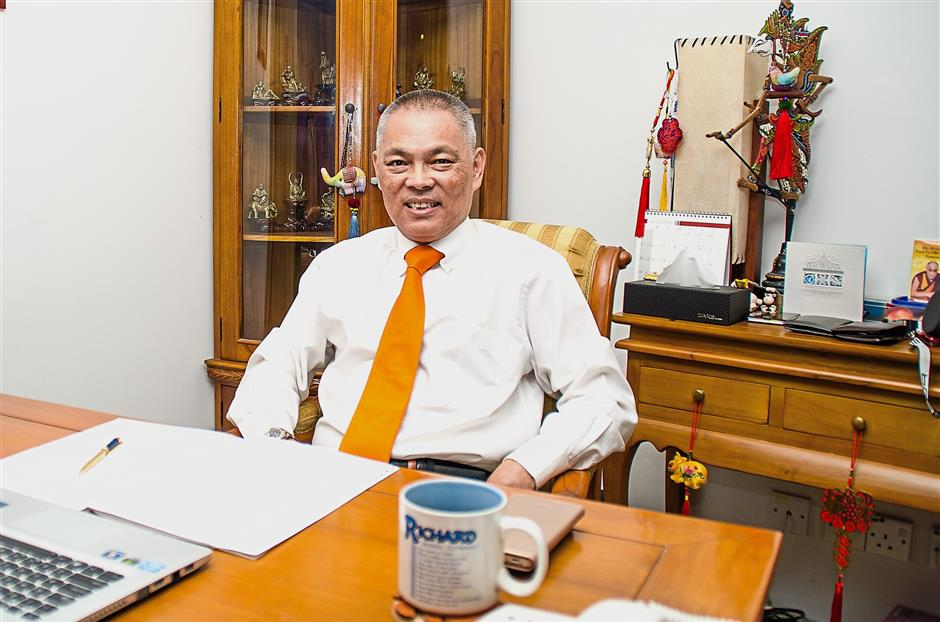 Optimistic: SMEs within selected retail sub-sectors will do well, says Chan.