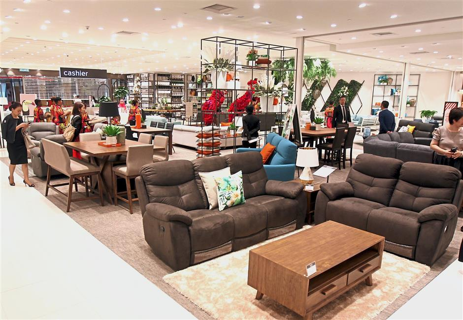 More brands such as Harvey Norman will open at the mall in the second quarter of the year. - Filepic