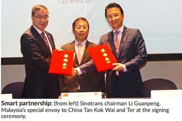 Sunsuria-China firms in logistic park and automotive design ventures