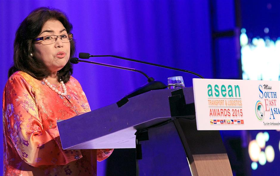Jalilah hopes Asean logistic players will cross the physical boundaries of logistics by forming strategic alliances.