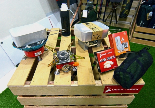 Convenient tools: The company is looking to develop more lightweight and compact camping products.
