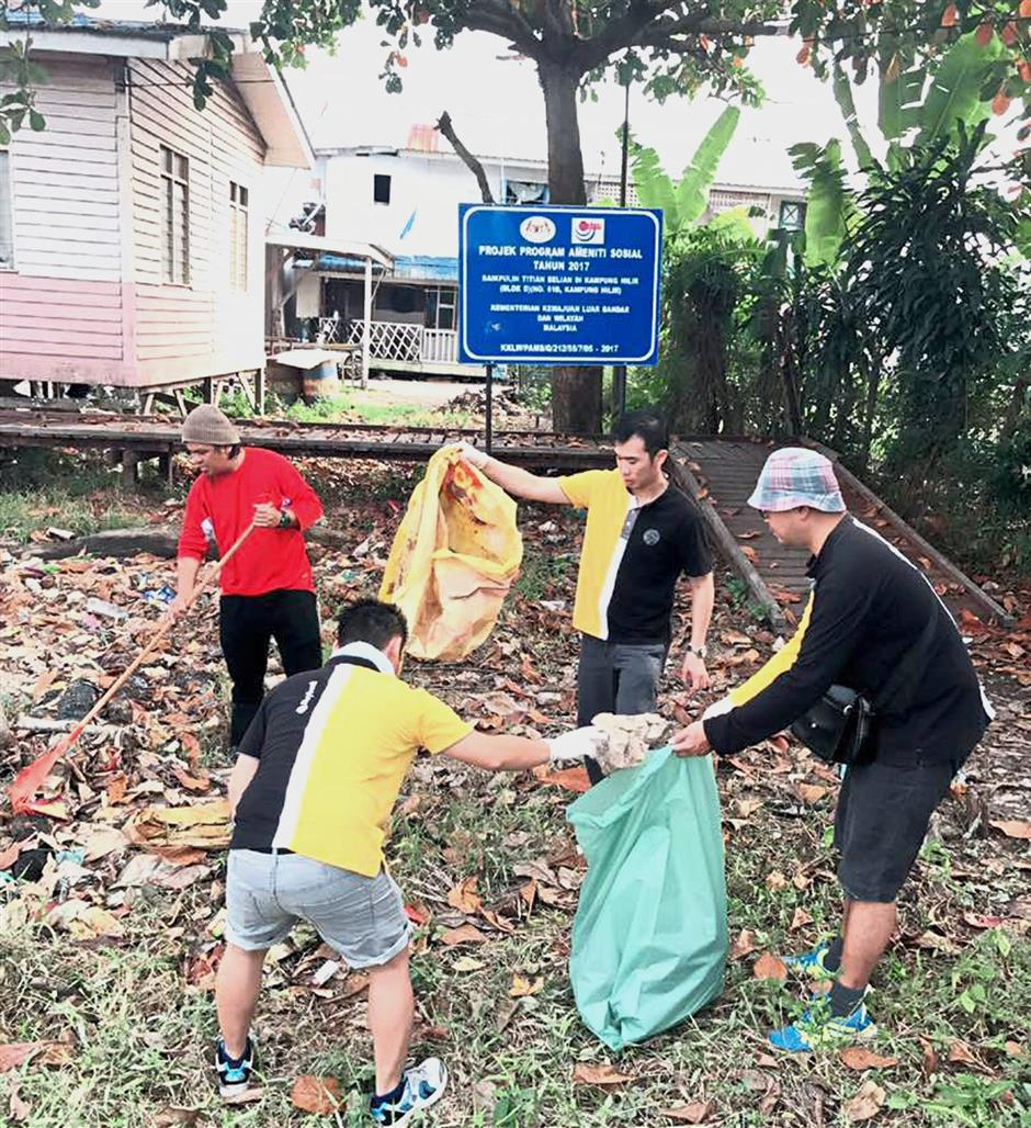 Residents must be responsible for the cleanliness of their neighbourhood and not depend on outsiders or cleaners. — filepic