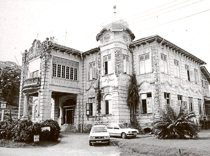 Grandeur of the past: The former Malacca Club located in Banda Hilir at the foot of St Paul's Hill next to the famous 16th Century Porta Santiago ruins.