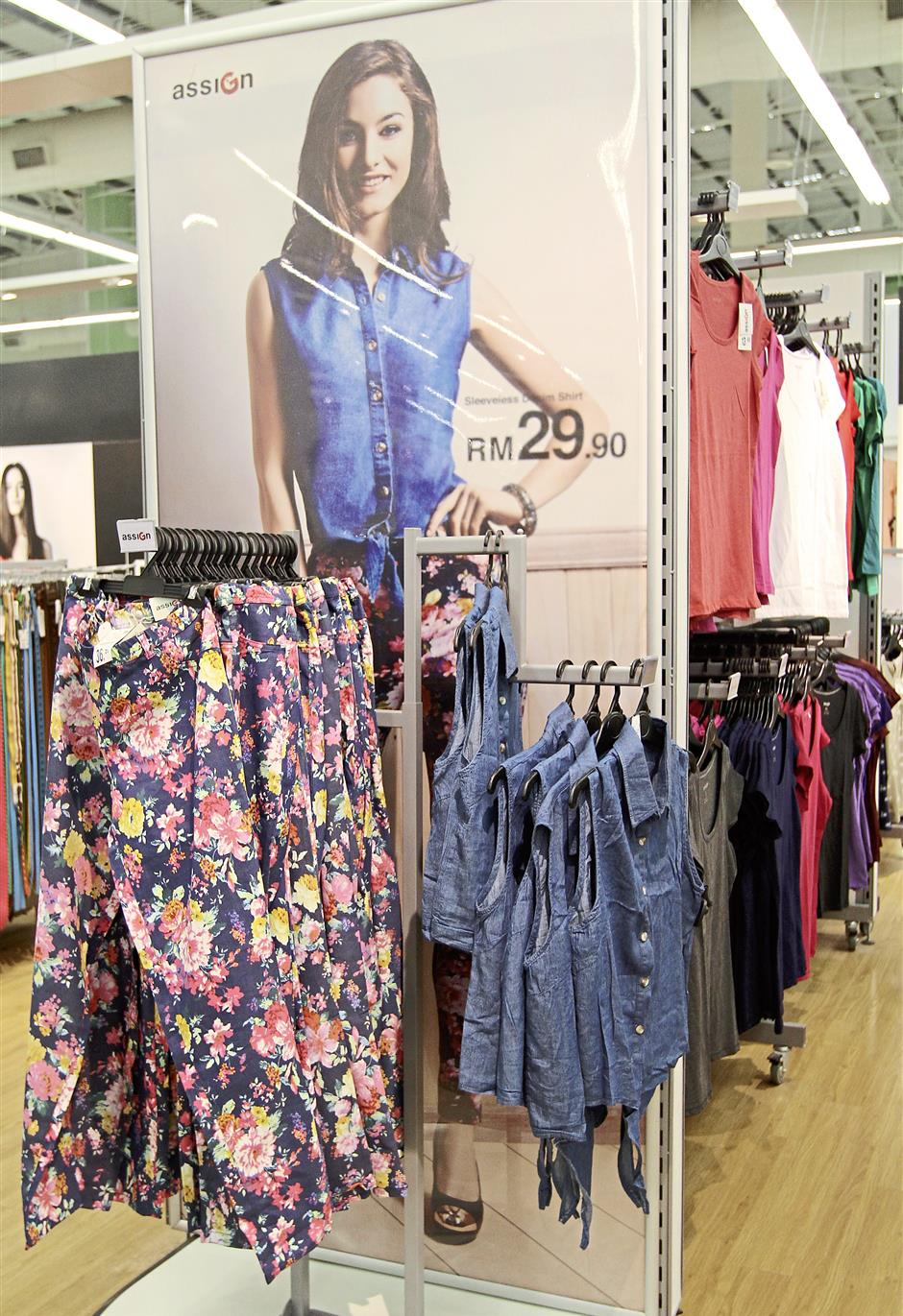 For the prudent spender: Tesco Malaysia believes that staying in style does not have to be costly.