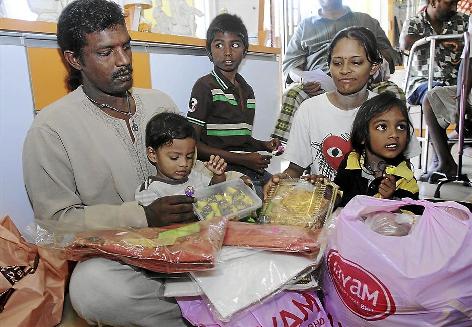 Timely aid gives needy families hope for joyous celebration
