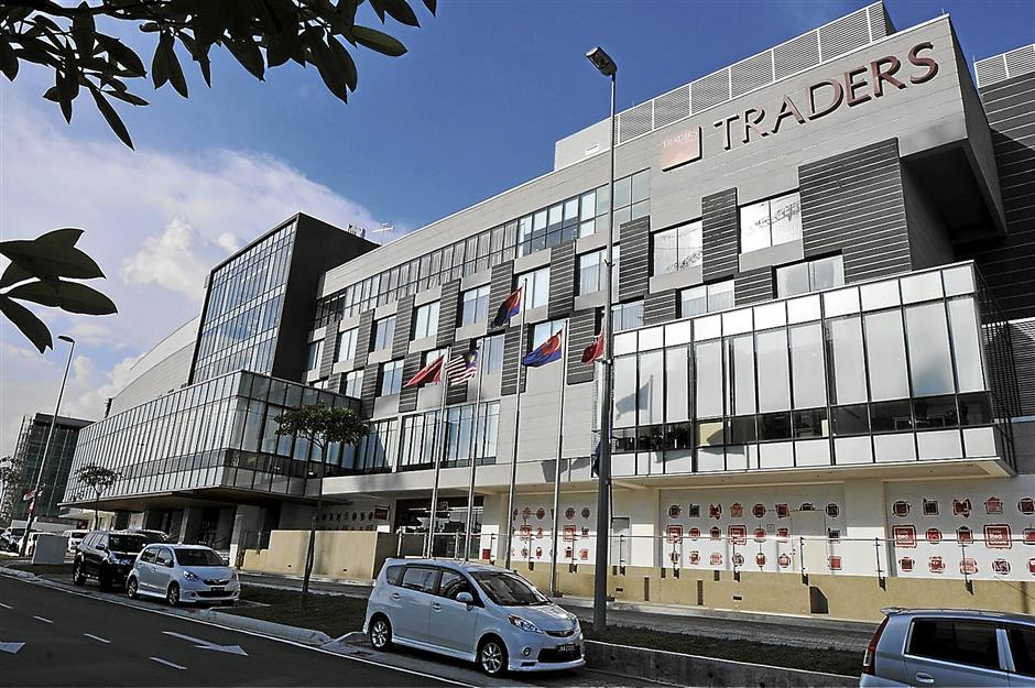 Classy hotel: Traders Hotel Puteri Harbour in Nusajaya, Johor is a RM235mil-hotel with four storeys and was opened on June 1 this year with the remaining fourth tower yet to be unveiled.