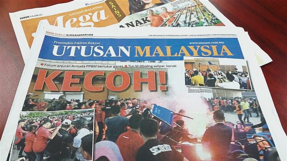 Umno to give up control of Utusan?
