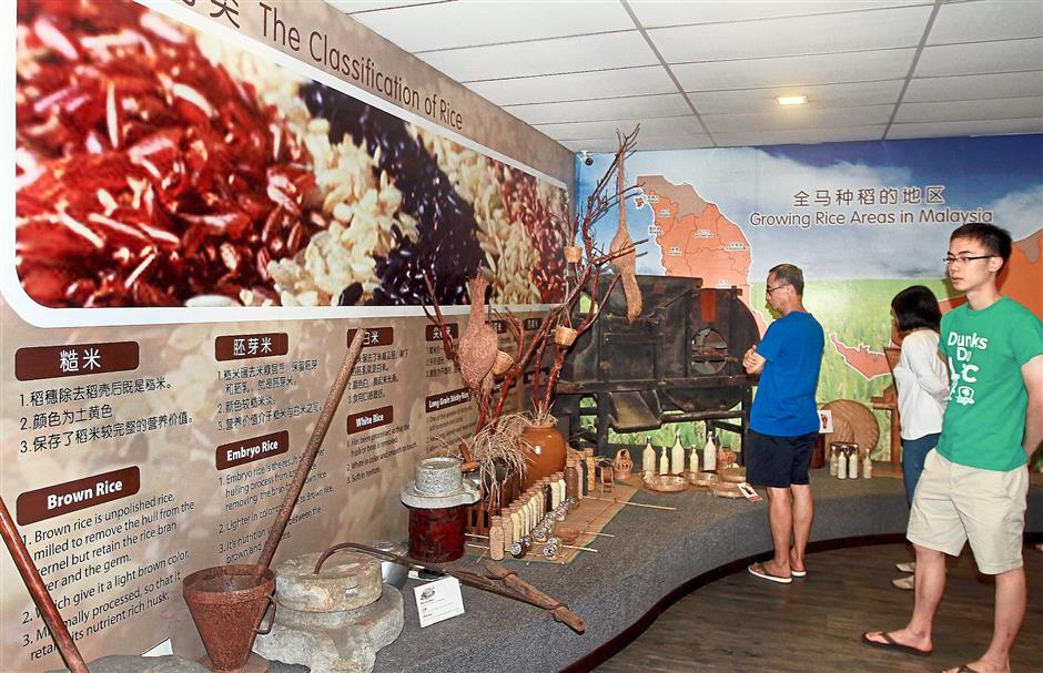 The padi museum in Sekinchan attracts about 10,000 visitors a month.
