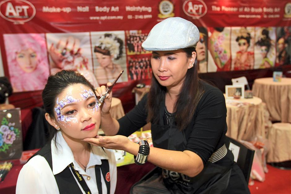 Body painting is the latest craze among youngsters and those who dare to be different.