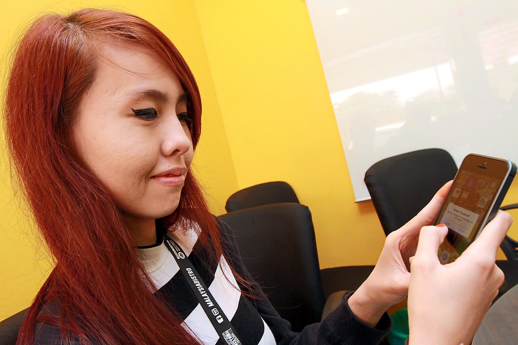 TOO BUSY FOR FB: Suzanna Zulkifli  lives a Facebook-less life. .