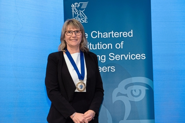 Prof Jack is the first female appointed president of the Chartered Institution of Building Services Engineers.