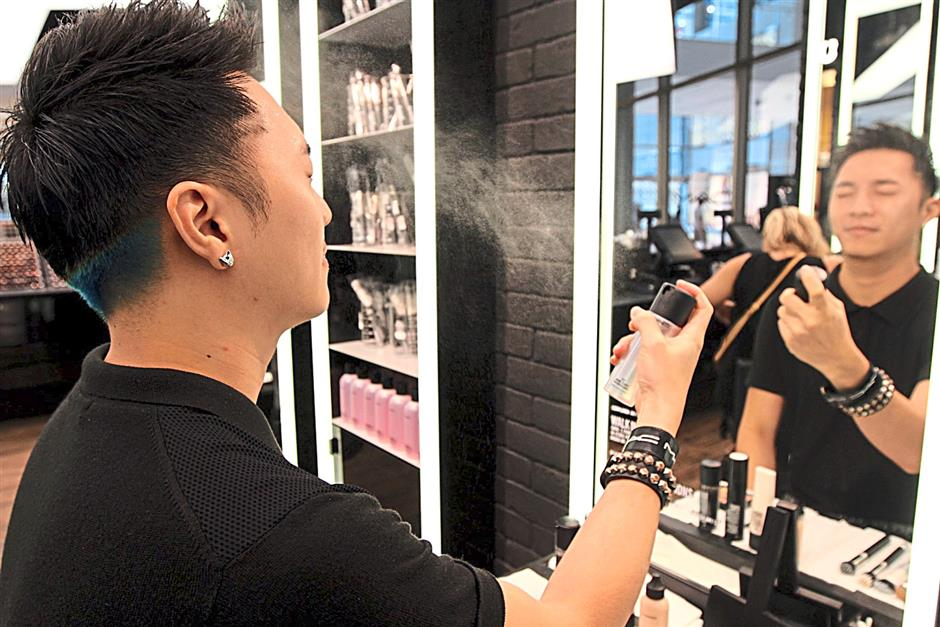 Men are more knowledgeable and more aware of what they want out of their skincare