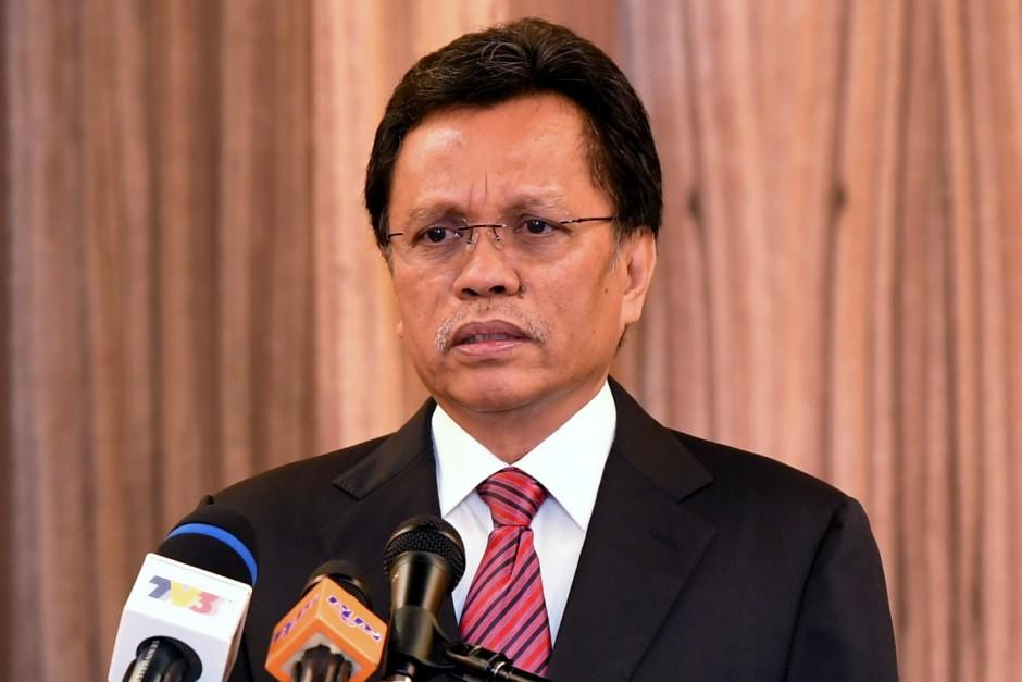 Datuk Seri Mohd Shafie Apdal. u2013 Bernama
