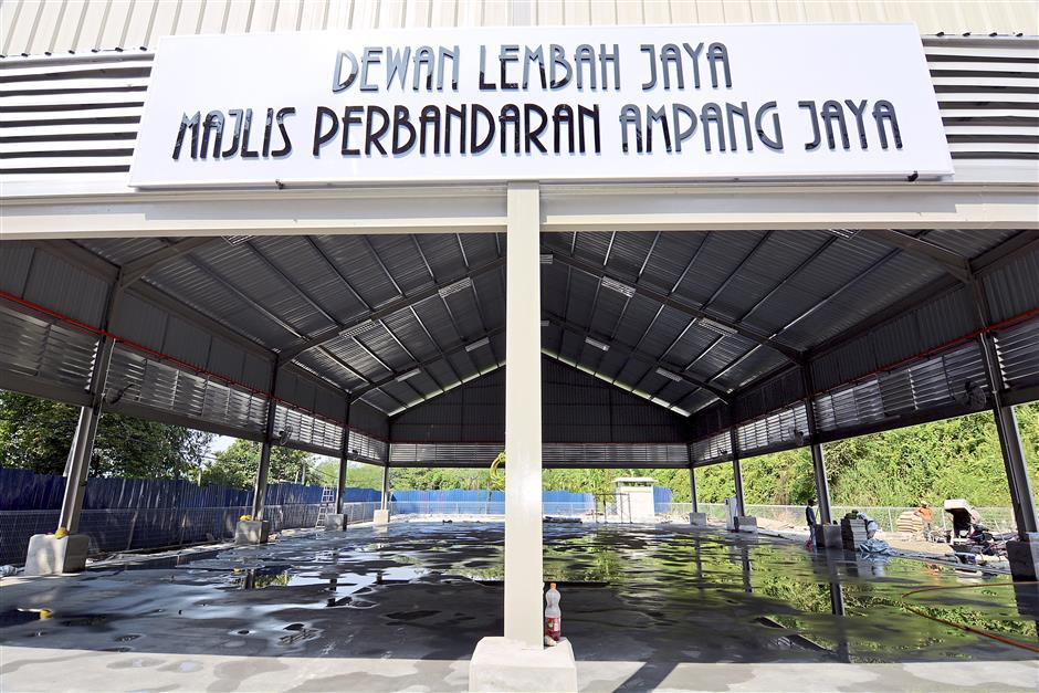 Not exempted: GST will be applied to rental fees for halls such as the Lembah Jaya Multipurpose Hall in Lembah  Permai, Ampang