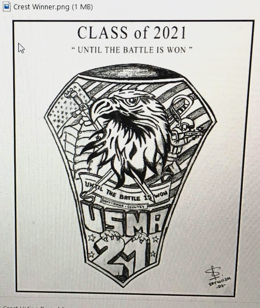 US Military Academy cadet Sayniish Muniandys design was selected to be his graduating classs official crest.