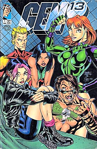 Popular as it was initially, Gen 13 never achieved its potential thanks in part to poor scripts and the DC-Wildstorm merger.