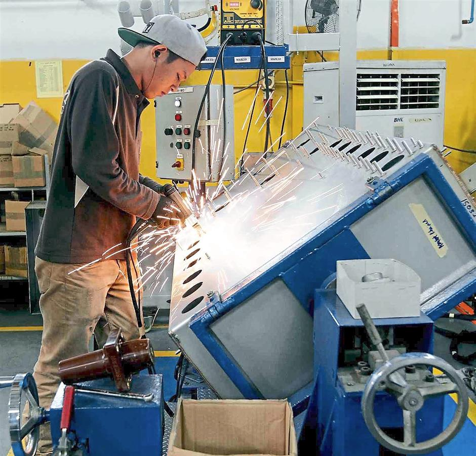 Bright sparks: Indkom'smain clients are utility companies, contractors, electronic equipment suppliers and consultants, and it is looking to grow beyond Malaysian shores.