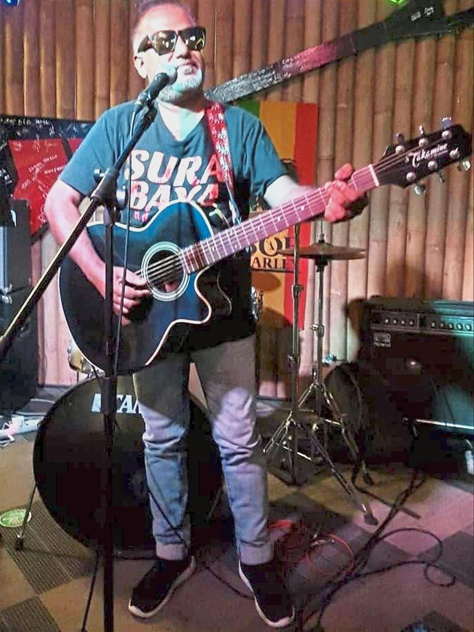Kevin Jay takes control of the stage in Where Else Sunway tonight.