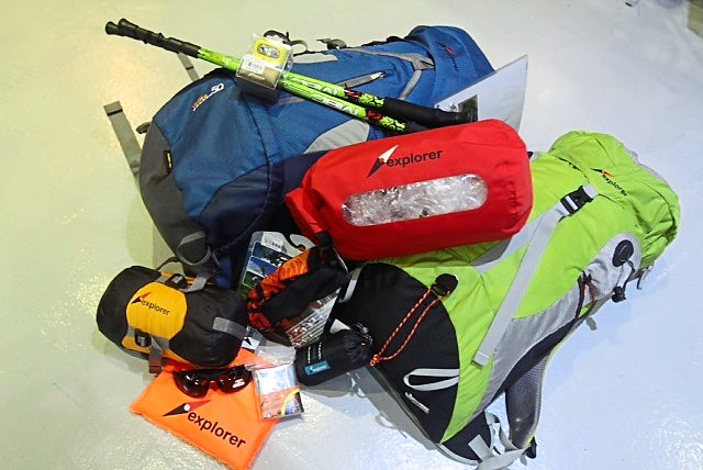 Backpacks, trekking poles, head lamps, a dry bag, a sleeping bag and a poncho are among the prizes being offered for those who write in about their Star2 Adventure Challenge.