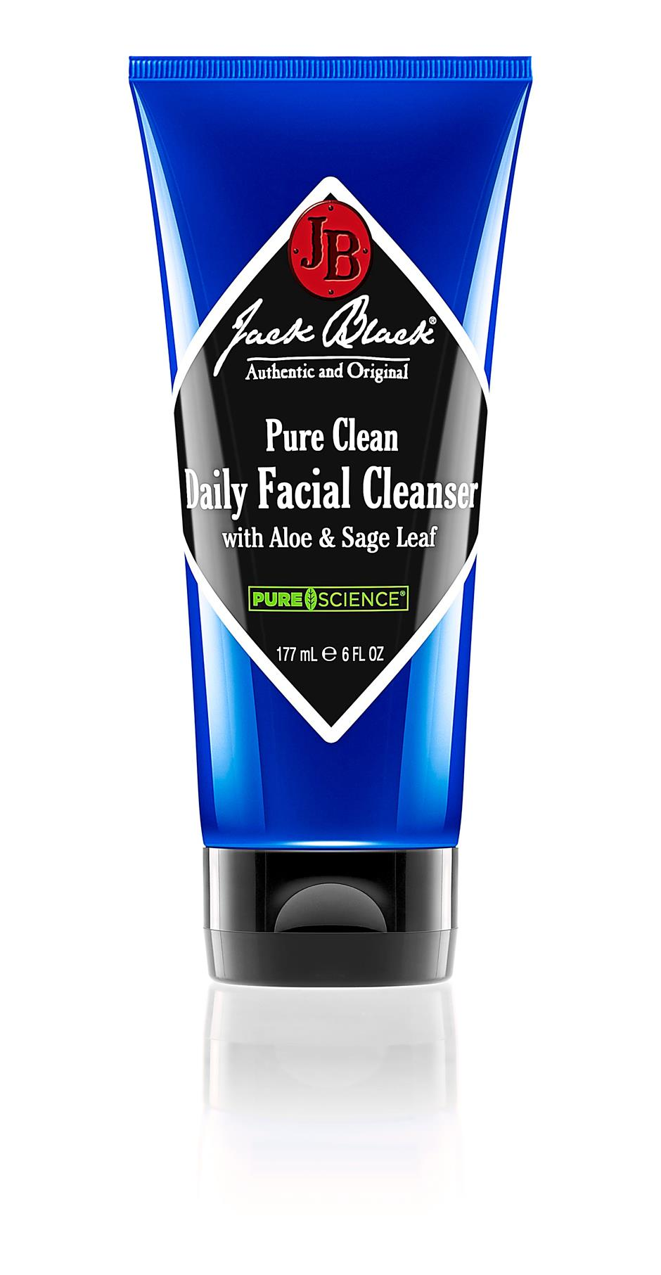 Jack Black Pure Clean Daily Facial Cleanser.