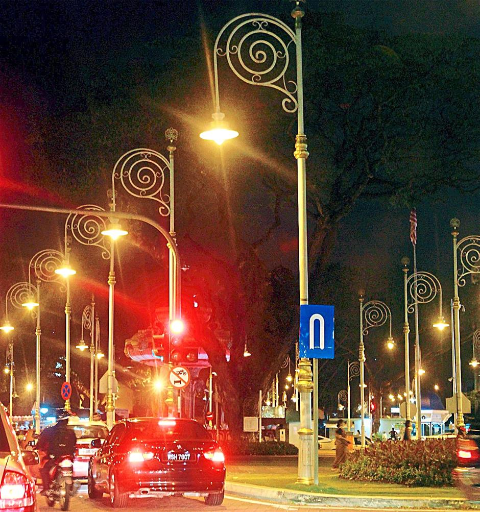 Excessive illumination of streets is one source of light pollution. - Filepic