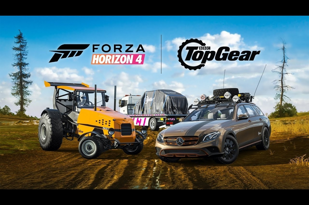 Top Gear crosses paths with Forza Horizon 4 in July update | The