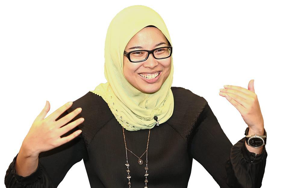 Interview with lawyer Fadiah Nadwa Fikri. IZZRAFIQ ALIAS / The Star. July 20, 2018.