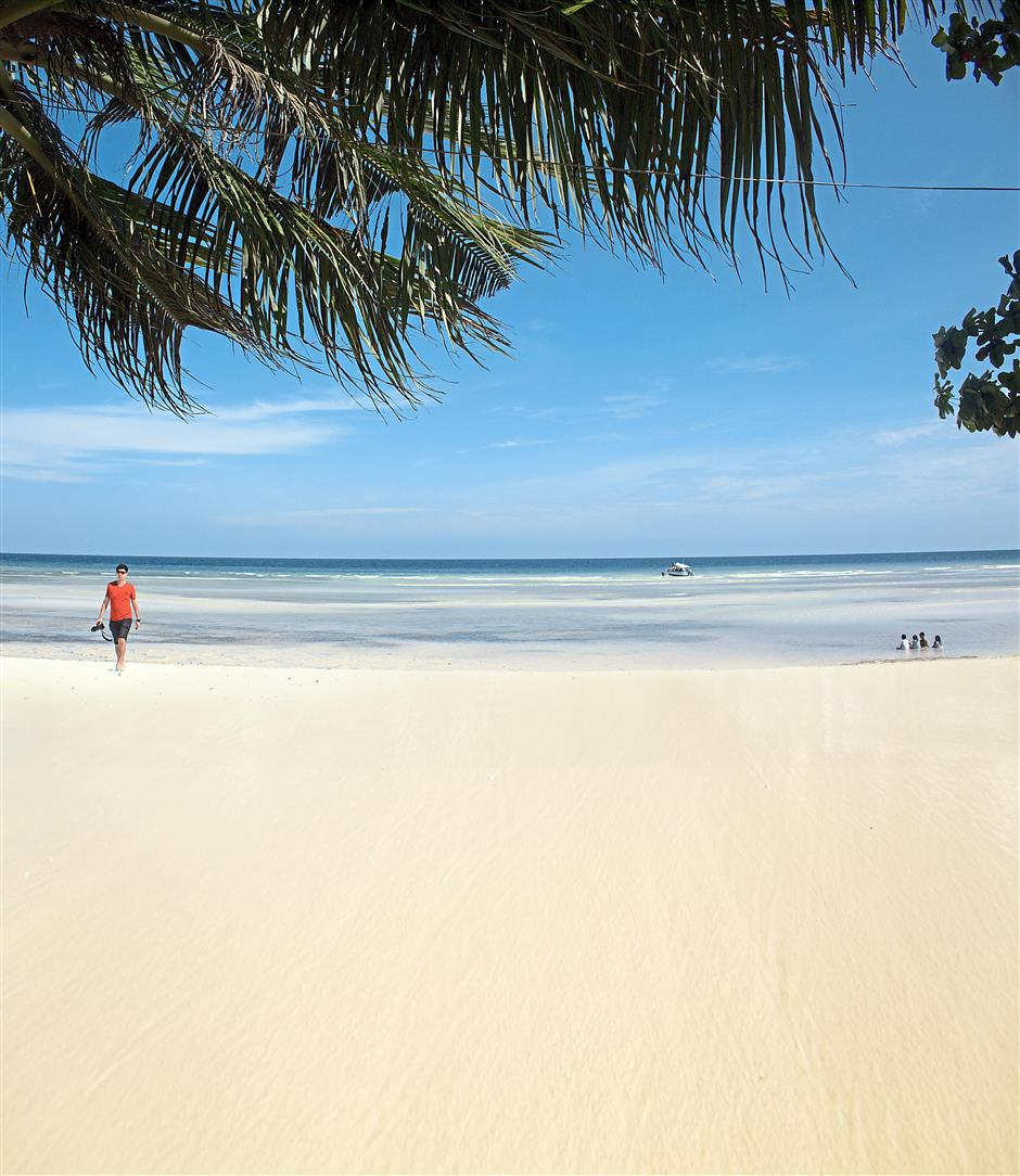 Island Of 'chocolate Kisses': Bohol's Beaches Beckon From