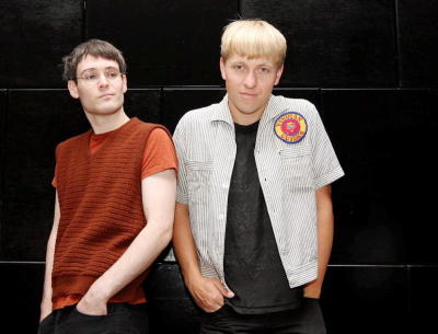 The Drums\' Jacob Graham (left) and Jonathan Pierce have charged ahead in the indie scene with two albums and a loyal global following.