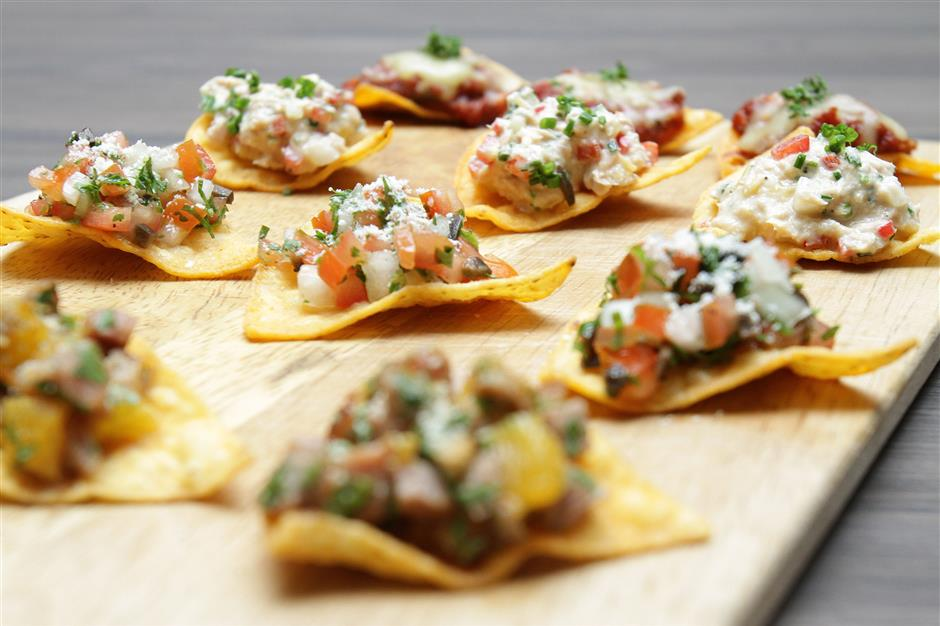 Recipe shoot for different ways to prepare and enjoy nachos at Interlude in Petaling Jaya.