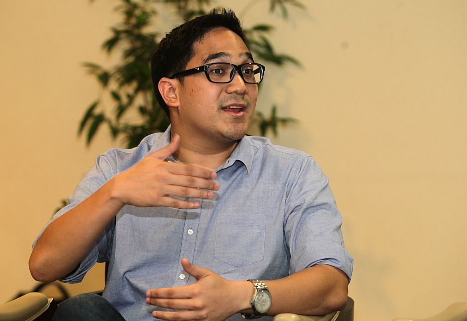 Interview with Perdana Fellows at Menara Star. AZMAN GHANI / The Star