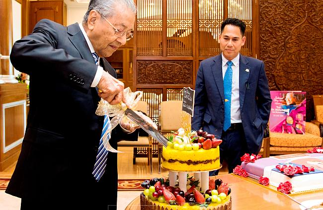It's work as usual for the birthday boy | The Star Online