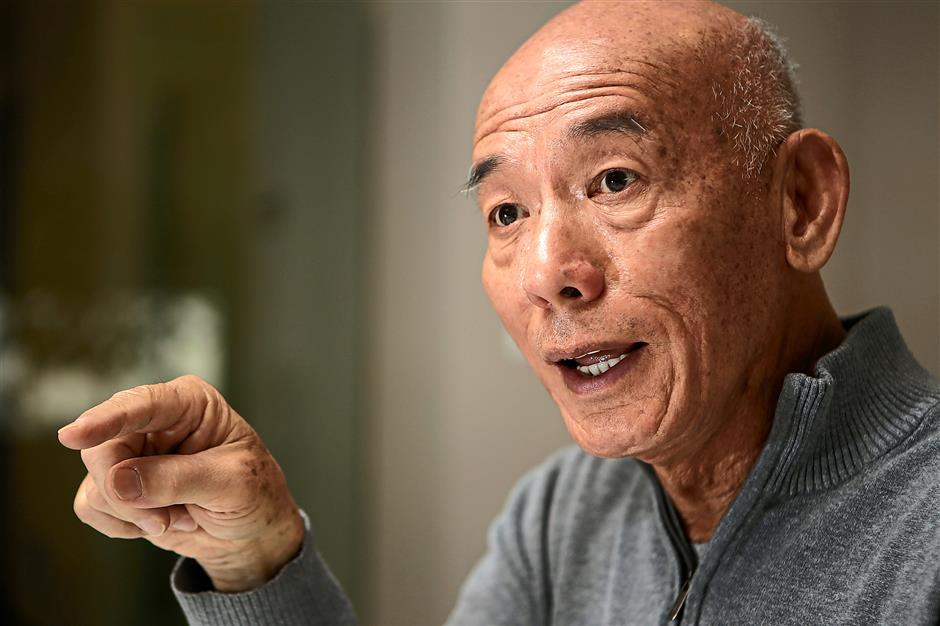 David Tran, owner of Huy Fong Foods, at the production plant in Irwindale, Calif., on January 30, 2015. (Irfan Khan/Los Angeles Times/TNS)